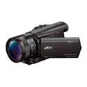 Sony FDR-AX100/B 4K Camcorder with 1 Inch Sensor - Li-Ion
