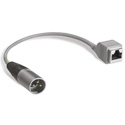 Studiohub ADAPT-XLRMS RJ45 to Single Male XLR Adapter