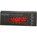 Radio Systems CT-2002 Thin Console Mount LED Studio Clock & Timer (No Remote)