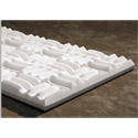 White Sonex One 24 x 48 x 3 Inch Thick Box of 4