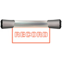 Sonifex LDD-20F1REC Single Flush Mounting 20cm RECORD Sign w/ DC Power Input - No Power Supply Included