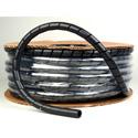 Spiral Wrap 1/2inx100ft Spool Black