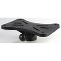 Universal Speaker Stand Exterior Mounting Bracket Black