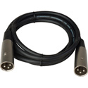 SuperSaver Series XLR Male to XLR Male Cable 10 Foot