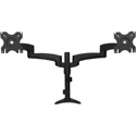 Startech ARMDUAL Desk-Mount Dual Monitor Arm - Articulating - Displays up to 24 Inches / 30lbs