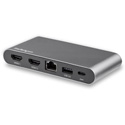 StarTech DK30C2HAGPD Dual-Monitor USB-C Multiport Adapter - 2 x 4K HDMI - 100W PD 3.0