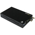 StarTech ET91000SM20 Gigabit Ethernet Copper-to-Fiber Media Converter - SM LC - 20km (12.4 Miles)