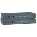 NTI ST-FOUSB2DARS-LC - USB Extender with DVI Video - Audio and RS232 via Fiber