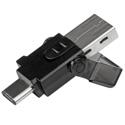 StarTech MSDREADU3CA USB 3.0 microSD Card Reader - USB C and USB A
