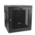 StarTech RK12WALHM 12U Wall-Mount Server Rack Cabinet - Up to 17 Inch Deep - Hinged Enclosure