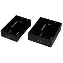 Startech ST121HDBTE HDMI Over CAT5 Extender HDBaseT Extender - Power Over Cable - Ultra 4K