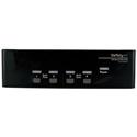 StarTech SV431DDVDUA 4 Port DVI VGA Dual Monitor Monitor KMM Switch USB with Audio and USB 2.0 Hub