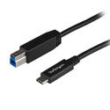 StarTech USB31CB1M USB-C to USB-B Printer Cable M/M 1 Meter (3 ft) - USB 3.1 (10 GBPS)