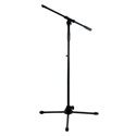 Connect Mic Stand Tripod Base & 36-60in Height & 24-40 in Boom Black