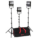Smith-Victor 401405 SL300 KIT 3-Light 1800-Watt Softlight Location Kit