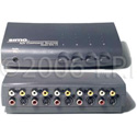 Sima 4x1 A/V Switcher with SVHS