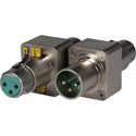 Switchcraft 303 3-Pin Male XLR to 3-Pin Female XLR with -20db Pad - Ground Lift - Phase Inverse