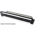 Switchcraft MVP32K2N75T 1.5RU 2x32 Midsize Video Patchbay - Non-Normalled / 75 Ohm Terminated