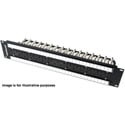Switchcraft MVP32K3N75T 2RU 2x32 Midsize Video Patchbay - Non-Normalled / 75 Ohm Terminated