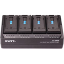 SWIT LC-D420C 4-Channel Simultaneous DV Battery Charger for Canon BP-945 Series Batteries