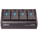 SWIT LC-D420i 4-Channel Simultaneous DV Battery Charger for JVC SSL Series Batteries