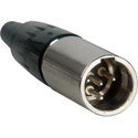 Switchcraft TA4MX Tini Q-G Miniature Connector Straight Male Cord Plug
