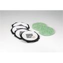 Toner Replacement Bag 5pk and Fiberglass Filter 2pk For MDV-3/MDV-2 Datavacs