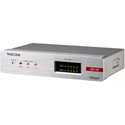 Tascam AE-4D 4-Channel AES/EBU Input/Output Dante Converter with Built-in DSP Mixer
