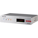 Tascam MM-4D/IN-E 4-Channel Mic/Line Input Dante Converter with Built-in DSP Mixer and Euroblock
