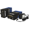Fiberplex TD-1580-L22 Fully Compatible EIA-530 / 6x4 RS-422 Serial Interface with 1x2 RS-232 DMX DTE TD Multimode LC