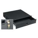 2 Space Textured Rack Drawer w/Key