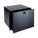 Middle Atlantic TD8-FLK 8 Space Textured Rack Drawer with Keylock and File Kit