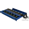 Fiberplex TDR-01-ACR 1.75 In (1RU) 6 Position Redundant Powered Rack for TD Series Modules Includes 2 x AC Power Adapter