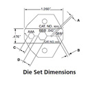 ADC-Commscope BNC Crimp Die .255/.324