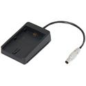 Teradek BIT-500 Cube Battery adapter plate for Canon LP-E6 with 2-pin Lemo