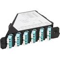 ADC-Commscope TFP-12MPLDQ2 Multimode 6 LC Duplex (12-Fiber) Patch Cassette Angle Left
