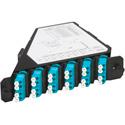 ADC-Commscope TFP-12MPLSQ5 SM 6 LC Duplex (12-Fiber) Patch Cassette Angle Left