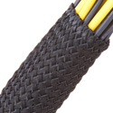 Techflex NRN1.00BK 1 Inch x 250 Foot Cable Sleeving - Black