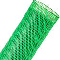 Techflex PTN-2.50NG Flexopet 2.5 Inch Expandable Tubing- 200 Foot Spool - Neon Green