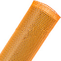 Techflex Flexopet 2 Inch Expandable Tubing - Neon Orange - 200 Foot