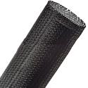 Techflex PTN-3.00BK Flexopet 3 Inch Expandable Tubing- 100 Foot Spool - Black