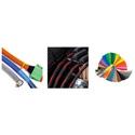 Techflex PTN063BK-500 5/8 Inch Nominal Size Flexo Pet Sleeving - Black - 500 Feet