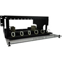 TechLogix ECO-RDU-4RU-P12 Rack-Mount Distribution Unit 4 RU with 12 Panel Slots and ID Labels