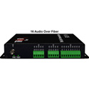 Thor Fiber F-16A-TXRX 16 Unbalanced Uni-Directional Audio over 1 Fiber Transmitter and Receiver Kit
