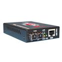 Thor Fiber F-GET-TR-SM Universal 10/100/1000 Mbps Gigabit Ethernet Fiber Optic SC Singlemode UPC Transceiver