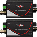Thor Fiber F-M1SDI-Tx-Rx 1Ch HD-SDI Transmitter & Receiver Kit Over Singlemode Fiber ST/PC 20km