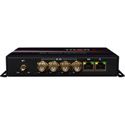 Thor Fiber F-M4SDI-ET-TXRX 4 HD-SDI 10/100 Ethernet RS485 Audio over Single Fiber TX/RX with Aux