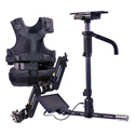 Tiffen/Steadicam A-HDAB15 Aero Camera Stabilizer Sled with Anton Bauer Mount & 7-Inch Monitor/A-15 Arm/SOLO Vest