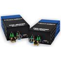 Fiberplex TKIT-DANTE-M Preconfigured DANTE to Multimode Optical Conversion 1310nm 2km with AC Power Adapters - Pair