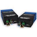 Fiberplex TKIT-DANTE-S TD-6010 Preconfigured DANTE to Singlemode Optical Conversion - 1310nm 20km - Pair with AC Adapter